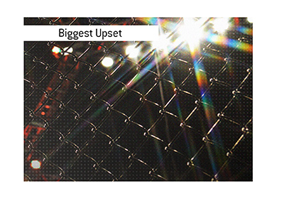 And the biggest upset in the history of Ultimate Fighting Championship is...