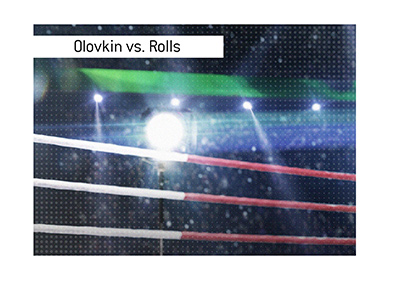 Boxing match between Gennady Golovkin and Steve Rolls is taking place this Friday.  Place your bets!