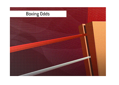Odds for the upcoming high profile boxing match vary according to the location.