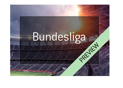 German Bundesliga preview - April 14th and 15th, 2018 - Big weekend for Schalke, Dortmund, Leverkusen and Eintracht.  Bet on the games!