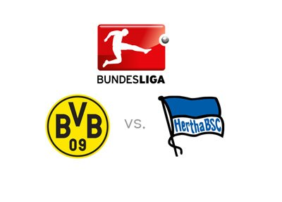 The 2016-17 season of the German Bundesliga - Borussia Dortmund vs. Hertha Berlin