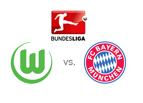 Bundesliga Matchup - Wolfsburg vs. Bayern Munich - Team Crests / Badges