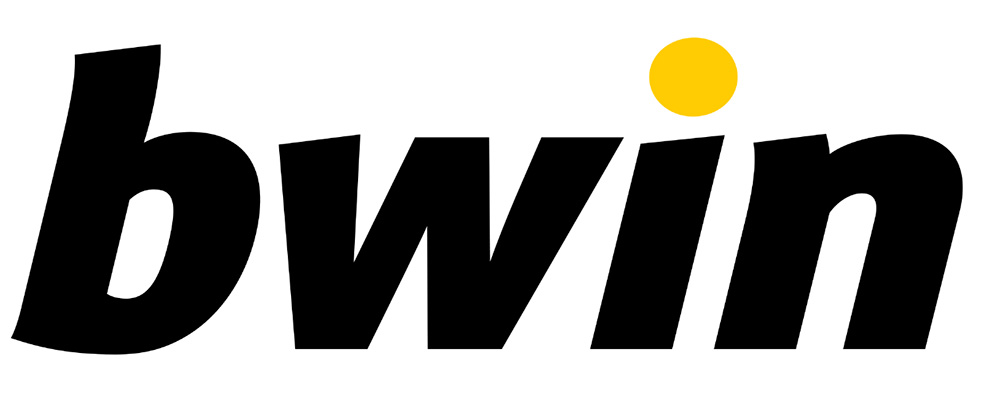 Bwin Logo - Black on White - Large Size
