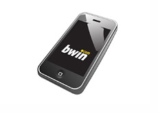 Sports betting on your iphone or android phone with bwin - Illustration
