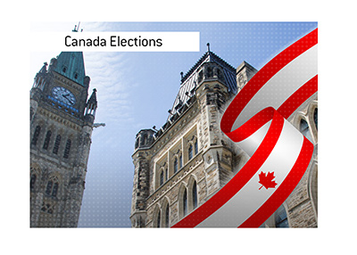 The elections are taking place in Canada this year.  Who are the favourites?