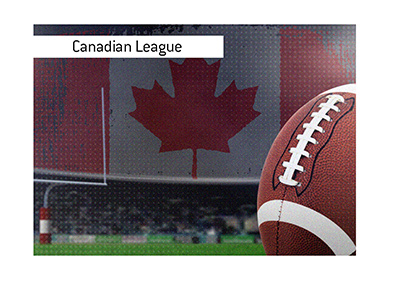 The Canadian football league is quite a bit different from the league south of the border.