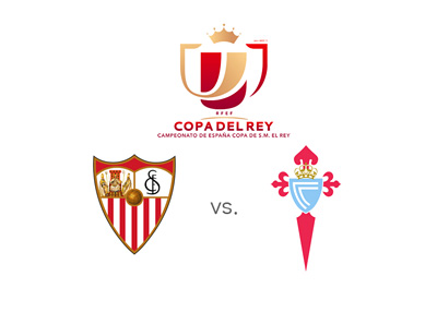 The Copa del Rey matchup between Sevilla and Celta Vigo - Spanish football