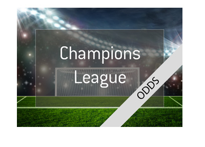 UEFA Champions League - Odds to make it to the quarter finals - 2017/18 season.