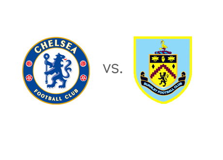 Chelsea vs. Burnley - EPL Matchup - Team Logos / Crests