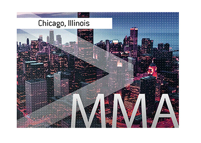 The next big MMA event is taking place in Chicago, Illinois.