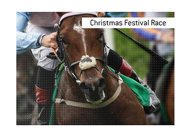 The race takes place in Northern Ireland every December during the Christmas Festival.