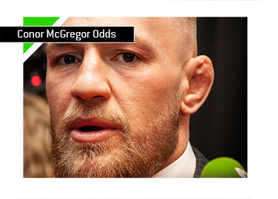 Conor McGregor betting odds history.  MMA.