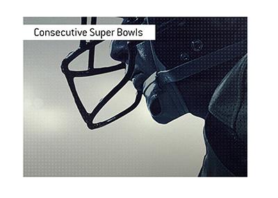 The teams that have won consecutive Super Bowls.