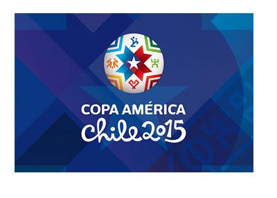 Copa America 2015 - Logo - Blue Background
