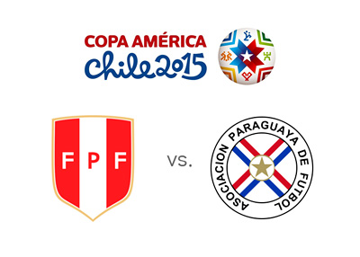 Peru vs. Paraguay - Matchup, preview and odds - Copa America 2015 - Tournament and team logos