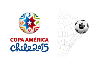 Copa America 2015 - Top Goalscorer Odds - Logo and Illustration