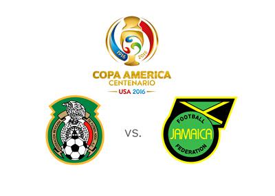 Copa America 2016 Matchup - Mexico vs. Jamaica - Thursday, June 9th