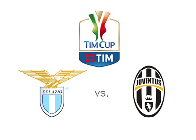 The Coppa Italia matchup between Lazio and Juventus.  Preview and winning odds.