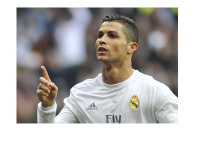 Cristiano Ronaldo - the hat trick hero from the first leg of the Champions League semi final vs. Atletico.  Archive photo.