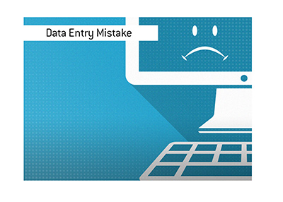 A data entry error could prove to be costly for a brick and mortar sportsbook.