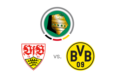 German Cup - DFB Pokal - Stuttgart vs. Borussia Dortmund - Preview and odds