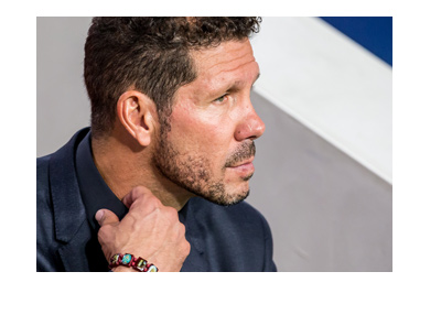 Diego Simeone in anticipation - Semi finals of the Uefa Champions League vs. Real Madrid is coming up.
