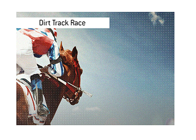 Odds for the upcoming Pennsylvania Derby - dirt track race.  Bet on it!