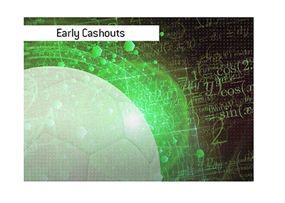 The early cashouts at online sportsbooks are explained.  How do they work?