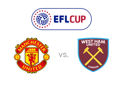 The English League Cup 2016/17 - Manchester United vs. West Ham United - Matchup preview and Odds.