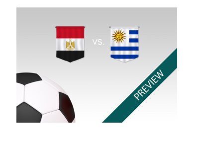 Egypt vs. Uruguay - World Cup match preview - 2018 Russia - Bet on it!
