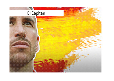 The legendary Spain international - Sergio Ramos - has equaled the record for most capped European player.