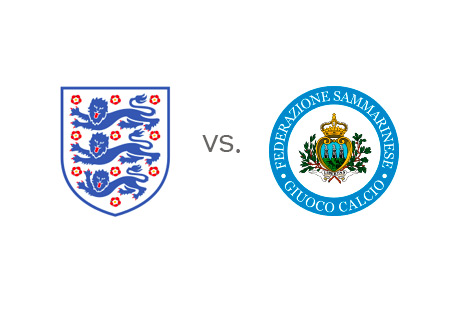 EURO 2016 Qualifications - England vs. San Marino - Team Crests - Head to Head - Preview