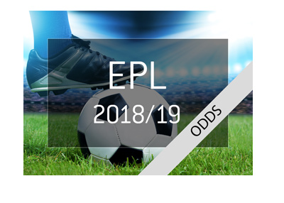 The odds to win the 2017/18 edition of the English Premier League - Who are the favourites? - Bet on it!