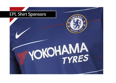 English Premier League - Chelsea FC - Shirt sponsorship. 2018/19 season.