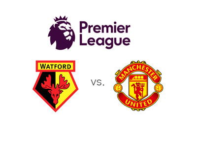 The 2016-17 English Premier League season match between Watford and Manchester United - 18/09/2016