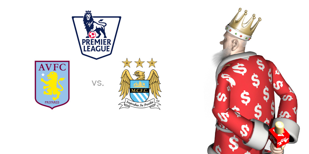King presents EPL matchup - Aston Villa vs. Manchester City - Game discussion and current form for each team, odds to win