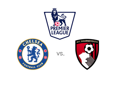 English Premier League matchup - Chelsea vs. Bournemouth - Team logos, preview and odds