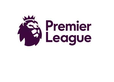 The 2016/17 season English Premier League logo - Black colour on white background
