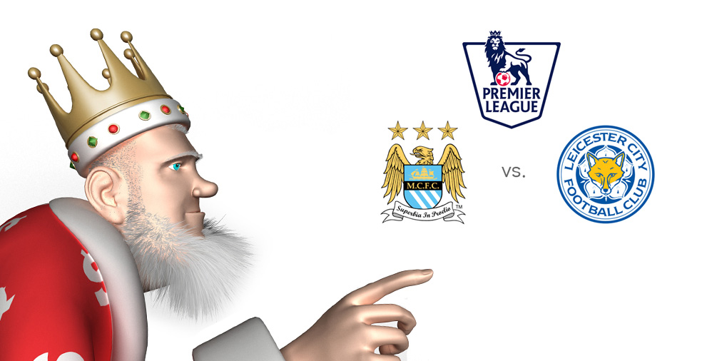 The King presents the upcoming English Premier League matchup between Manchester City and Leicester City - Who is the favourite to win?