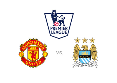The English Premier League matchup - Manchester United vs. Manchester City - Preview, Odds and logos - Man Darby