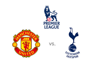 Manchester United vs. Tottenham - English Premier League matchup and odds - August 8th, 2015 - Team logos