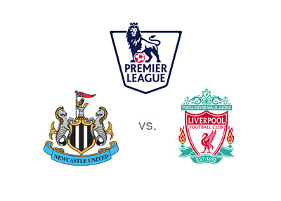 The English Premier League - Newcastle vs. Liverpool - Odds, Preview, Matchup - League logo and team badges