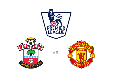 Southampton vs. Manchester United - English Premier League matchup - EPL - 2015/16 - Team logos, preview and odds