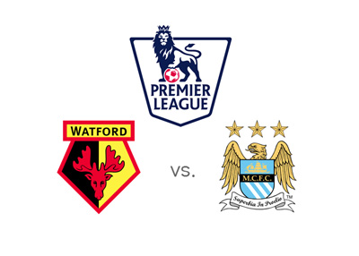 Watford vs. Manchester City - Barclays English Premier League matchup - Preview and odds