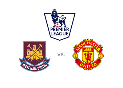 West Ham United vs. Manchester United - English Premier League matchup - 2015/16 Season