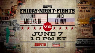 ESPN Friday Night Fights - Molina vs. Klimov - TV Poster