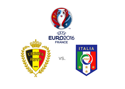 Belgium and Italy meet in the group stage of the Euro Cup 2016 in France