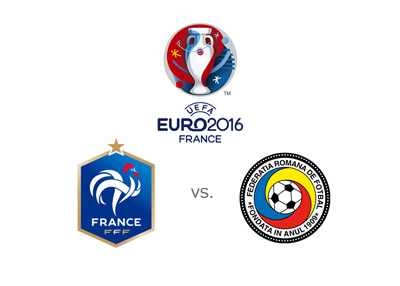 Euro 2016 - Opening match - France vs. Romania - Odds - Logo - Badges