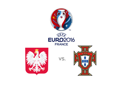 The EURO 2016 matchup between Poland and Portugal - Odds and favourites to win