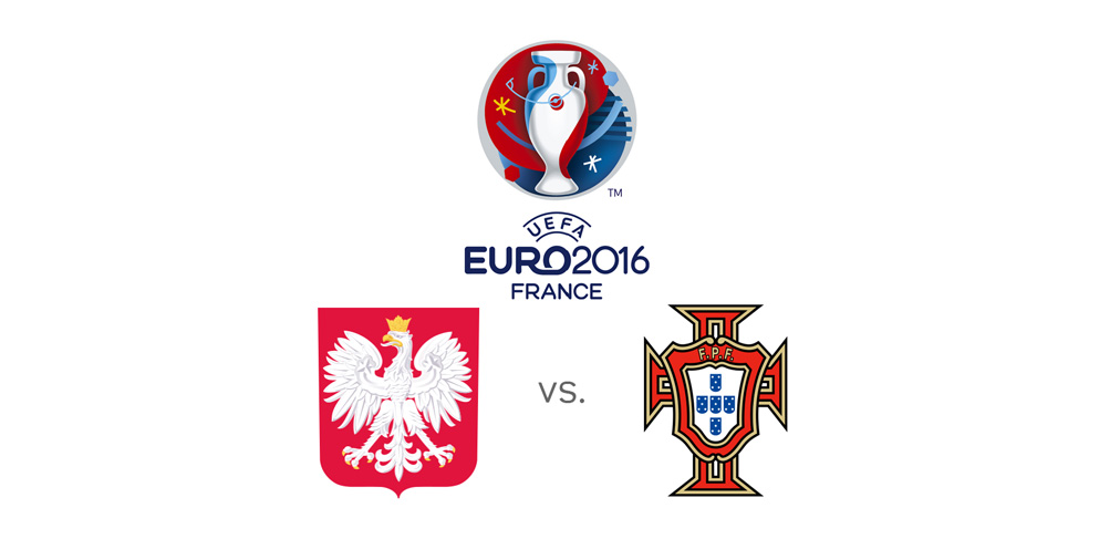 Poland vs. Portugal - EURO 2016 quarter-final match - June 2016
